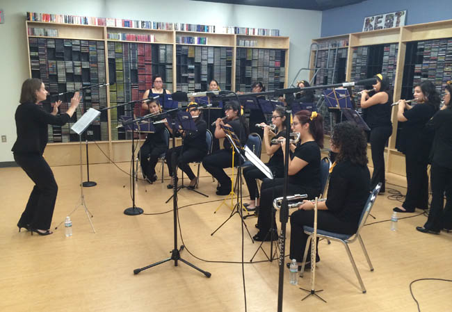 LIVE from KEDT's Grace Dobson Studio Texas A&M-Kingsville Flute Ensemble, broadcasted live on KEDT-FM, 8/8/2016 over the noon hour.