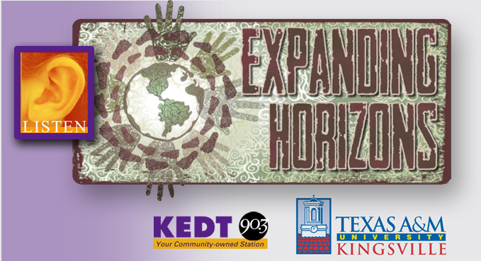 Click above to hear Expanding Horizons episodes.